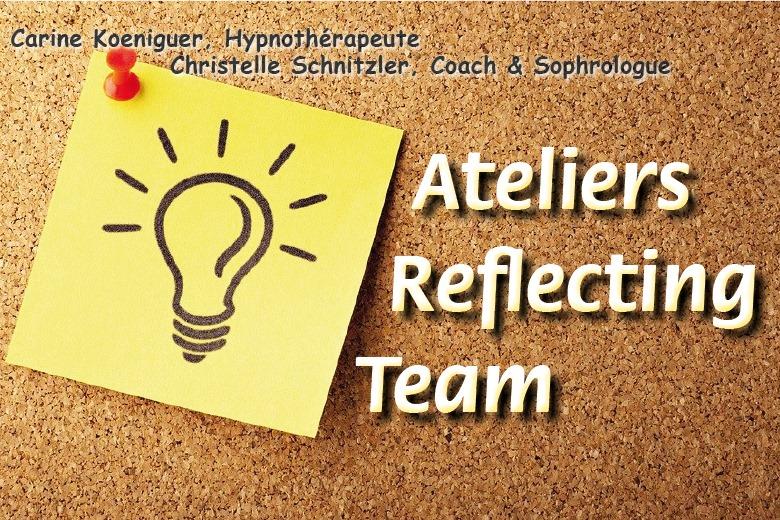 Reflecting Team - groupe de supervision pour sophrologues et hypnothérapeutes