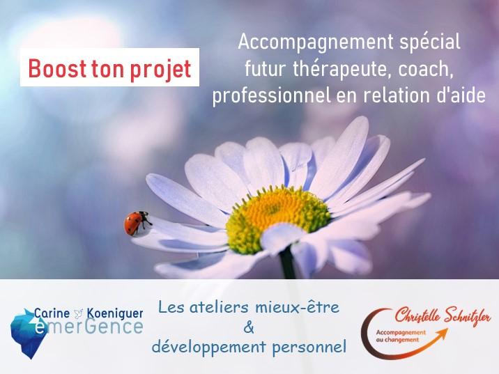 atelier mieux-être et développement personnel Strasbourg Boost ton projet